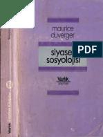 Maurice Duverger - Siyaset Sosyolojisi