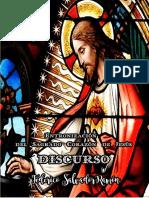 DISCURSO. Entronización del Sagrado Corazón  de Jesús.