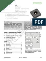 Datasheet SHT3x-ARP