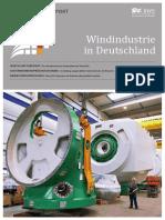 BWE Branchenreport - Windindustrie in Deutschland 2016 1