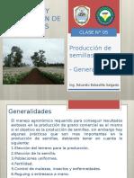 CLASE N°05 PRODUCCIÓN DE SEMILLAS - GENERALIDADES