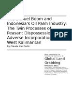 Biofuel Boom in Indonesia