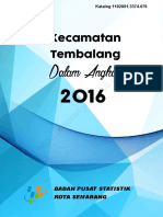 Kecamatan Tembalang Dalam Angka 2016