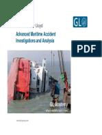 Advanced Maritime Incident Investigation