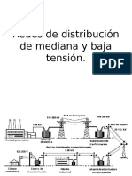Redes de Distribución de Mediana y Baja Tensión