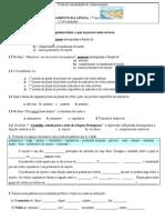 Gramática /Consolidação de Conhecimentos