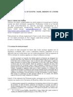 French - Statut Personnel en Egypte 2006