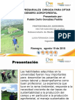 Sustentacion de Grado Para Ing Agroforestal