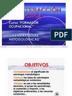 LA INTERACCION DIDÁCTICA Silva Guia Metas