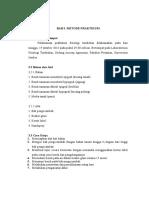 Bab 3. Metode Praktikum