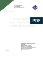 Estructuración en Zonas Sísmicas