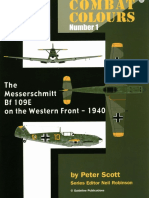 SAM Combat Colours 01 - Messerschmitt Bf-109E on the Western Front - 1940 Scale Aircraft Modelling