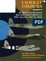 SAM Combat Colours 06 - De Havilland Mosquito Day and Night Fighters in RAF Service 1941 to 1945