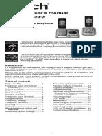Manual de usuario Vtech CS6629