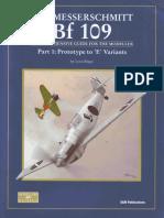 SAM Modellers Datafile 09 - The Messerschmitt Bf-109 Part 1 Prototype to 'E' Variants