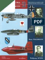 Kagero Asy Lotnictwa 02 Josef Priller,Hans Waldmann,Wolfgang Spate