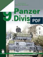Mushroom Green Series 4141 - 9 Panzer Division 1940-1943