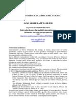 Italian - Tavola Giuridica Analitica Del Corano 2005