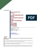 French - Sami Aldeeb à la Fondation Cini 2000