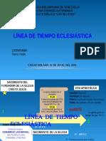 Linea de Tiempo Ecleciastica