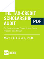 Tax Credit Scholarship Audit