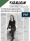 Difusion-Teresa Forcade Entrevista