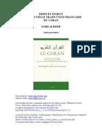 French - Défis et enjeux d'une nouvelle traduction écrit