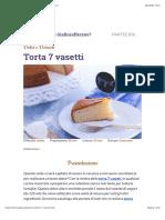 Ricetta Torta 7 Vasetti - Le Ricette Di GialloZafferano