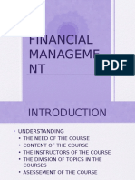 FINANCIALMANAGEMENT 20162017