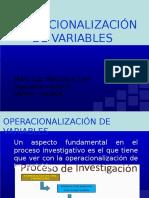 Operacion de Variables