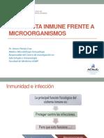 Clase Semana 10 Respuesta Inmune Frente a Microorganismos