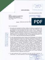 Carta Notarial de Bull Piccone