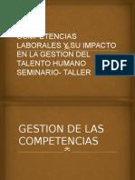 Seminario Taller de Sistema de Gestion Por Competencias