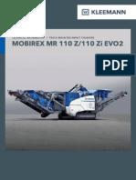 Datasheet Kleemann Mr110 EVO 2 En