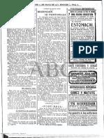 ABC 12.05.1913 Recepción de Fontanilla