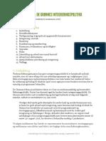 Rapport Integreringsutvalg MDG 2016