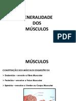 Generalidades Dos Músculos
