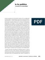 Los Lazos de La Politica. Una Sociologia de La Creencia y La Comunidad - Jose M. Casco