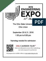 2016 Engineering Expo Program 0