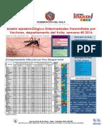 Boletin Enfermedades Transmitidas Por Vectores 2016 Huila Semana 40
