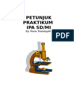 Petunjuk Praktikum IPA SD/MI