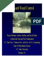 Grapeguide Vineyard WeedControl