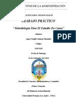 TRABAJO N° 01 - METODOLOGÍA PARA EL ESTUDIO DE CASOS - La CIA Ddel Abuelo
