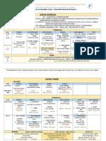 Cronograma Del Congreso 30-10