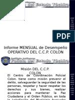 Informe Mensual Operativo Aipet 2016