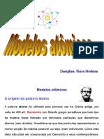 Radiação e Modelos Atômicos