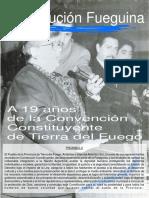 Convencion Constituyente Tierra del Fuego