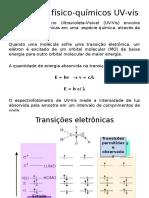 Princípios Físico Químicos UV Vis