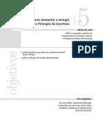 Aula05 - Operadores Momento e Energia e o Princípio Da Incerteza