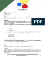 Semanal OMEC 2015Ene26 Soluciones OLIMPIADAS
